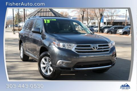 Pre-Owned 2013 Toyota Highlander FWD 4dr I4 Plus