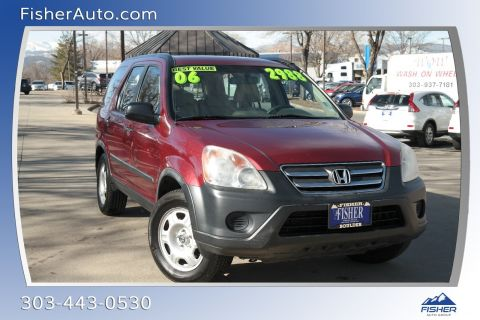 Pre-Owned 2006 Honda CR-V 4WD LX AT