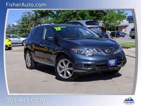 Pre-Owned 2013 Nissan Murano AWD 4dr LE