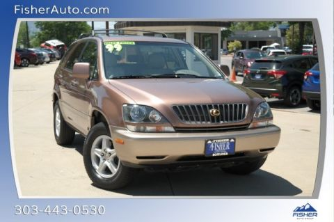 Pre-Owned 1999 Lexus RX 300 Luxury 4dr SUV 4WD