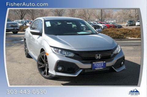 New 2019 Honda Civic Hatchback Sport FWD 4dr Car