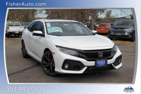 New 2018 Honda Civic Hatchback Sport Touring FWD 4dr Car
